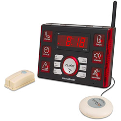 Clarity AlertMaster AL10 Clock/Vibrator System Price: $159.95