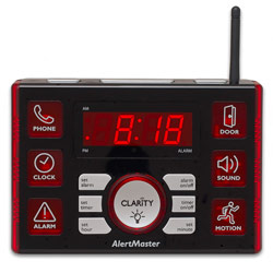AlertMaster AL10 Clock-Vibrator-Doorbell System
