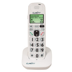 Clarity D704HS Expandable Handset for D700 Series Amplified Phones - click to view larger image