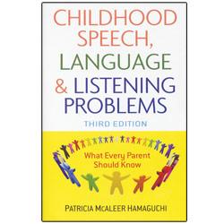 Childhood Speech, Language and Listening Problems