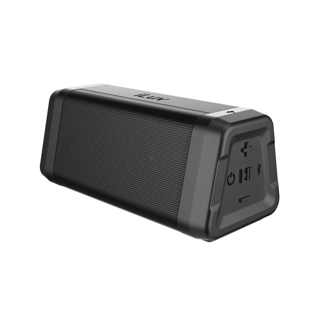 Aud Mini Plus Rugged IPX5 Super Bass Stereo Speaker - click to view larger image