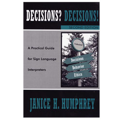 Decisions? Decisions!