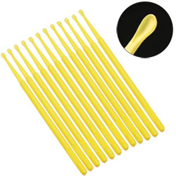 Safe Ear Curettes - Yellow- Pack of 12