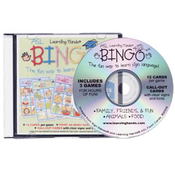 Learning Hands ASL Bingo- CD-Rom