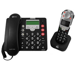PowerTel 780 Amplified Corded Phone Plus Handset - click to view larger image