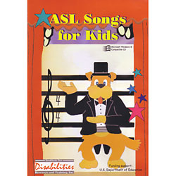 ASL Songs for Kids -CDRom