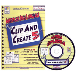 ASL Clip and Create CDRom, Ver. 4 Price: $39.95