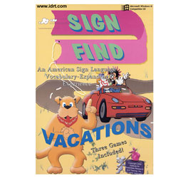 Sign Fine - Vacations Computer CD-Rom Price: $29.95