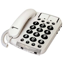 Geemarc Ampli100 Amplified VM Corded Phone- 40dB Price: $62.95
