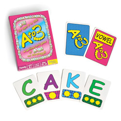A to 3 - Spelling Card Game Price: $15.99