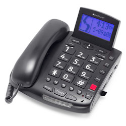 Clearsounds 50dB Amplified Speakerphone - Black Price: $115.95