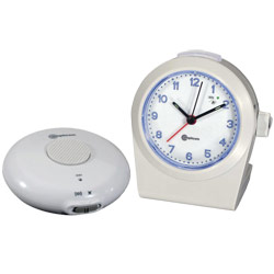 Amplicom Alarm Clock-Ring Signaler with Vibrator