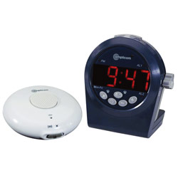Amplicom Talking Digital Alarm Clock with Vibrator Price: $92.95