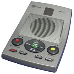 Amplicom Amplified Answering Machine: 40dB Price: $72.95