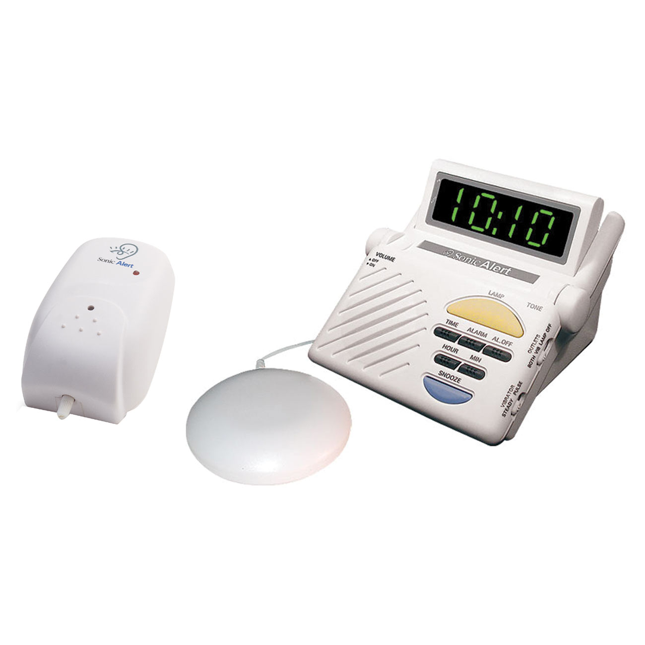 Sonic Alert Sonic Sitter Baby Cry Signaler, Receiver and Bed Vibrator Combo - click to view larger image
