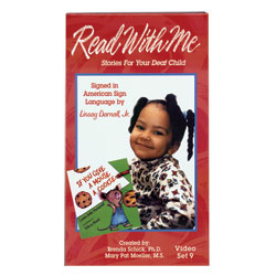 READ WITH ME -SET 9  - VHS