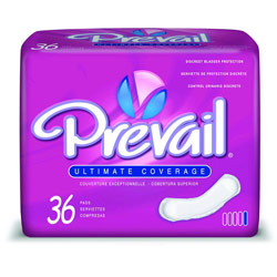 Prevail Ultimate Bladder Control Pads (144/Case) Price: $59.00