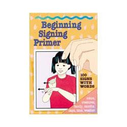 Beginning Signing Primer Cards -100 Cards