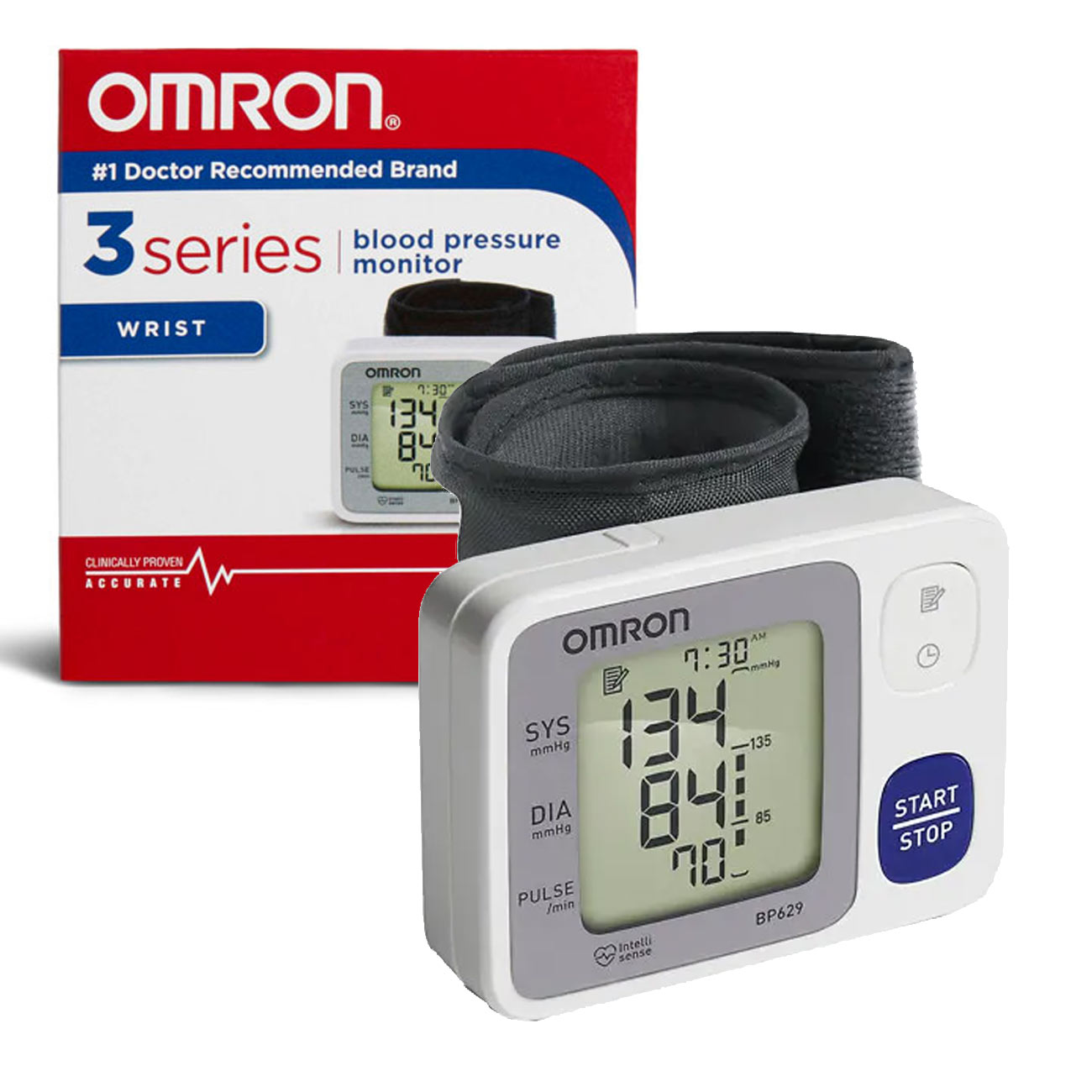 Omron Auto-Inflating Wrist Blood Pressure Monitor Price: $65.95
