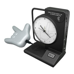 ILY Alarm Clock with ILY Bedshaker - click to view larger image
