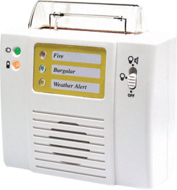 KROWN Receiver with Strobe and Audible Alarm Price: $149.95