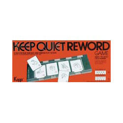 Keep Quiet Reword Price: $13.95