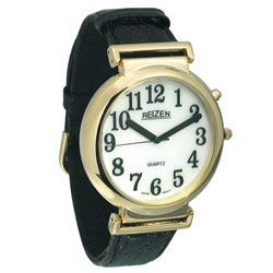 Reizen Watch - Illuminated White Dial with Black Numbers Price: $24.95