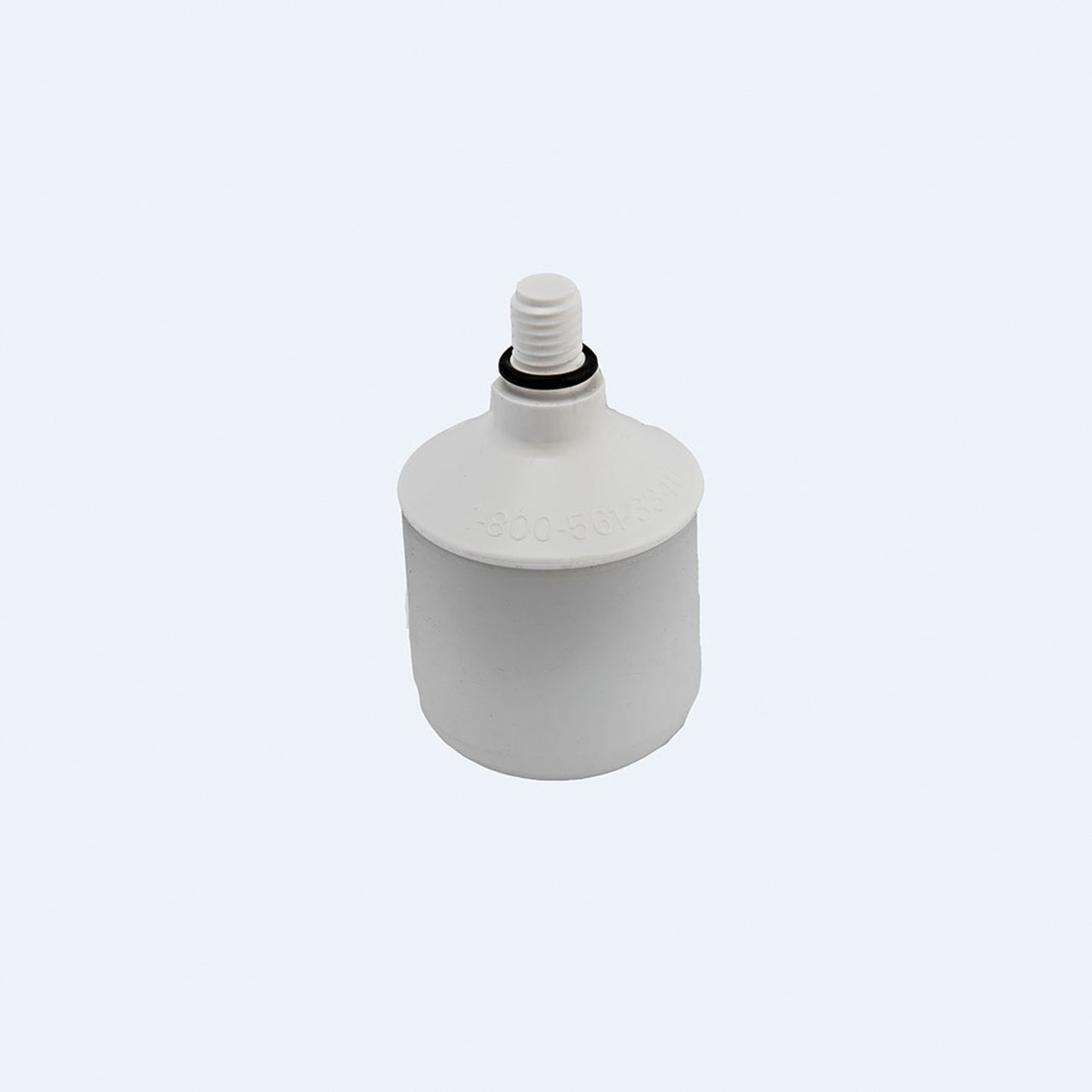 Ambutech 8mm Threaded Roller Marshmallow Tip - White