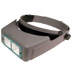 Optivisor Optical Glass Binocular Magnifier - 4 Diopter 2X