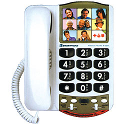 Ameriphone P-300 Amplified Photo Phone Price: $49.95