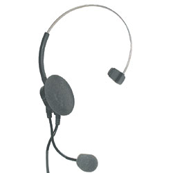 Supra Monaural Headset with Noise Cancelling