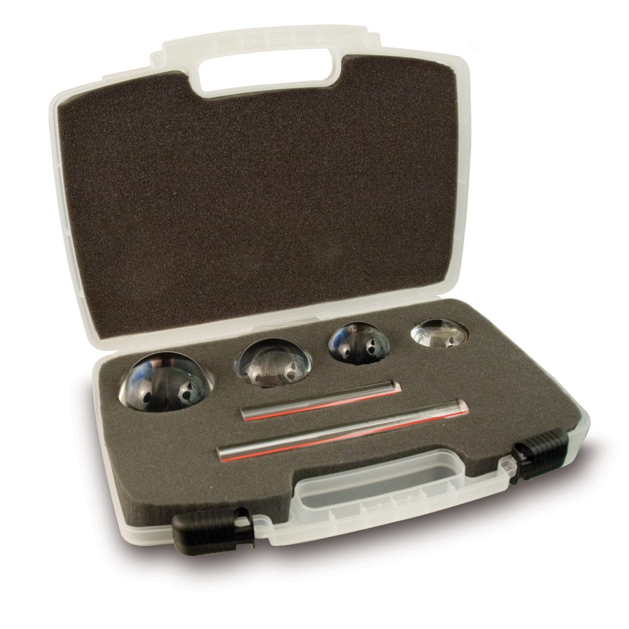 Reizen Reading Magnifier Kit with 4 Dome Magnifiers and 2 EZ Magnibars