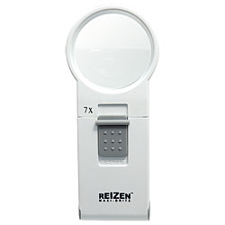 REIZEN 7x Illuminated Pocket Magnifier Price: $25.95