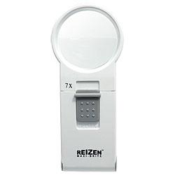 Reizen Maxi-Brite LED Handheld Magnifier - 7X - click to view larger image