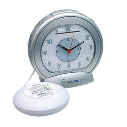 Sonic Boom Analog Vibrating Alarm Clock Price: $36.95
