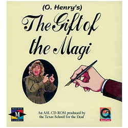 CD-Rom - The Gift of The Magi, by O. Henry