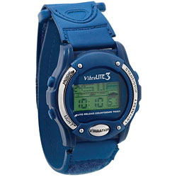 Vibralite 3 (Blue with Blue Velcro (R) Brand Fasteners Band) Price: $49.95