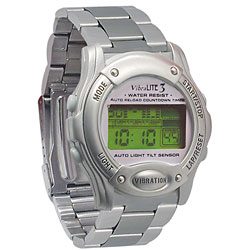 Vibralite 3 (Chrome with Stainless Steel Band) Price: $69.95