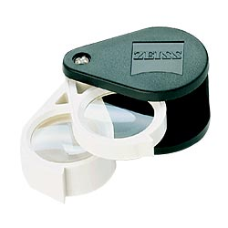 Zeiss Aplanatic-Achromatic Double Loupe-36D -9x