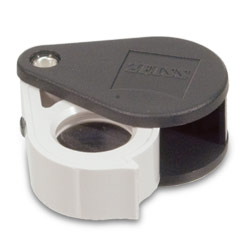 Zeiss Aplanatic-Achromatic Pocket Loupe: 40D (10x) Price: $102.05