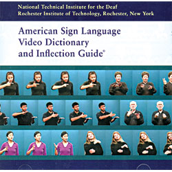 ASL Video Dictionary and Inflection Guide (CDRom) Price: $49.95