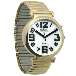 Reizen Watches with White Face and Illuminated Face Price: $19.95