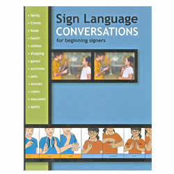 Book - Sign Language Conversations Price: $14.95