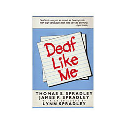 Book - Deaf Like Me Price: $16.95
