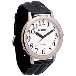 Ultima Low Vision Watch - White Dial Price: $19.95