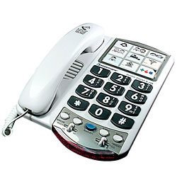 Ameriphone P-300 Amplified Photo Phone Price: $40.45
