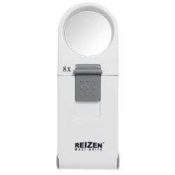 Reizen Maxi-Brite LED Handheld Magnifier - 8X - click to view larger image