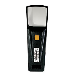 Reizen Illuminated Pocket Magnifier - 2X 1-3-4 in. Sq. Lens - click to view larger image