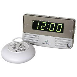 Sonic Alert -Travel Size Bedside Clock with Bed Shaker Price: $35.95