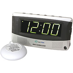 Sonic Alert Alarm Clock with Dual Alarm Clock Price: $44.95